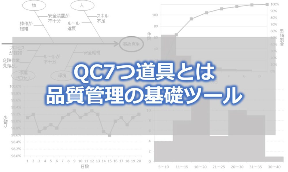 QC7つ道具とは 品質管理の基礎ツール