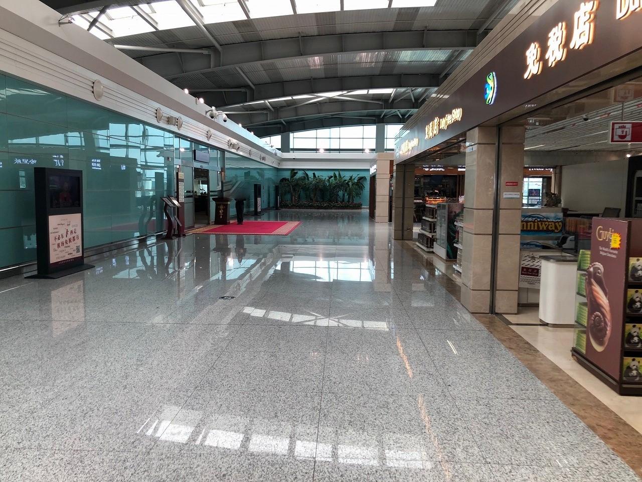 大連空港国際線ターミナル VIPラウンジ場所