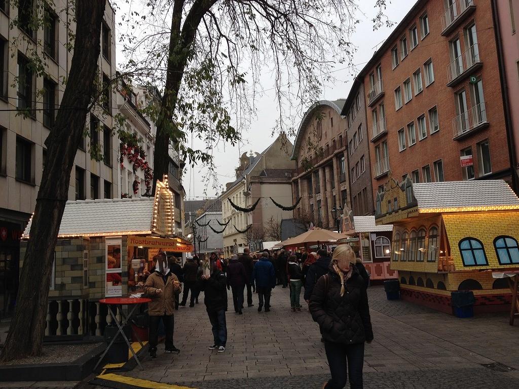 デュッセルドルフ中心街
