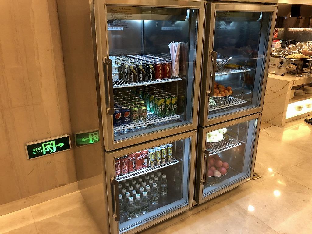深セン空港国内線 深セン航空ラウンジ 飲食物